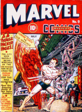Marvel Mystery Comics (Timely - 1939) -9- Human Torch vs. Sub-Mariner