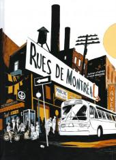 Rues de Montréal - Histoires urbaines en bandes dessinées