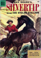 Four Color Comics (Dell - 1942) -667- Max Brand's Silvertip and the Stolen Stallion