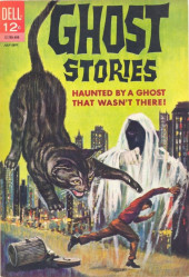 Ghost Stories (Dell - 1962) -7- Haunted by a Ghost That Wasn't There!