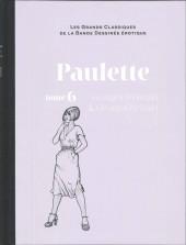 Les grands Classiques de la Bande Dessinée érotique - La Collection -8262- Paulette - Tome 6