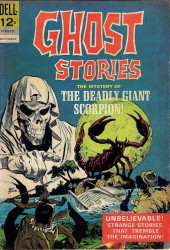 Ghost Stories (Dell - 1962) -12- The mystery of the deadly giant scorpion!