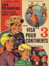 Les franval -2- Visa pour 3 continents