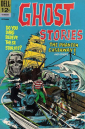 Ghost Stories (Dell - 1962) -15- The Phantom Castaway!