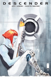 Couverture de Descender (Image comics - 2015) -30- The End of the Universe: Part 2 of 4