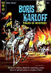 Couverture de Boris Karloff Tales of Mystery (Gold Key - 1963) -10- (sans titre)