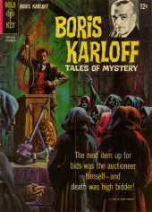 Couverture de Boris Karloff Tales of Mystery (Gold Key - 1963) -12- (sans titre)