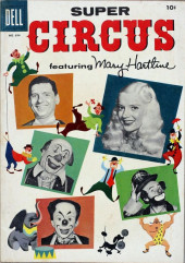 Four Color Comics (Dell - 1942) -694- Super Circus featuring Mary Hartline