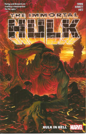 Couverture de Immortal Hulk (The) (2018) -INT03- Hulk In Hell