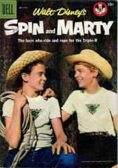 Four Color Comics (Dell - 1942) -714- Walt Disney's Spin and Marty