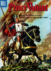 Four Color Comics (Dell - 1942) -719- Prince Valiant: The Peril of the Round Table