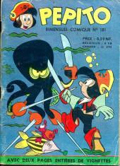 Pepito (1re Série - SAGE) -181- La chasse au Klakmürf