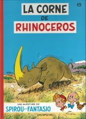 Spirou et Fantasio -6c1997- La corne de rhinocéros