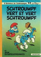 Les schtroumpfs -9a1975- Schtroumpf vert et vert schtroumpf