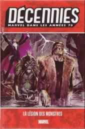 Les décennies Marvel -4- Les années 70 : la légion des monstres
