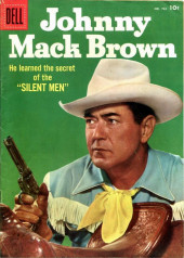 Four Color Comics (Dell - 1942) -722- Johnny Mack Brown: Silent men
