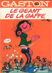 Gaston -10a1986- Le géant de la gaffe