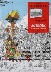 Astérix (Livre-Jeux) -16- Coloriage XXL Astérix et la grande famille
