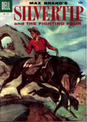 Four Color Comics (Dell - 1942) -731- Max Brand's Silvertip and the Fighting Four
