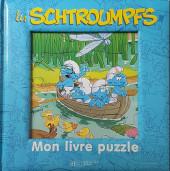 Les schtroumpfs (Jeux) - Mon livre puzzle