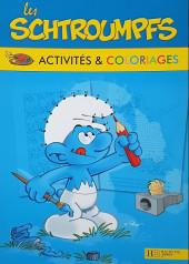 Les schtroumpfs (Jeux) - Les schtroumpfs activités et coloriages