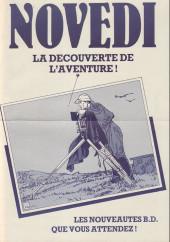 (Catalogues) Éditeurs, agences, festivals, fabricants de para-BD... - Novedi - 1985 - Catalogue