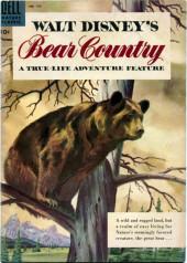 Four Color Comics (Dell - 1942) -758- Walt Disney's A True-Life Adventure: Bear country