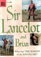 Four Color Comics (Dell - 1942) -775- Sir Lancelot and Brian