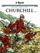 Les grands Personnages de l'Histoire en bandes dessinées -13- Churchill - Tome 1