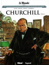 Les grands Personnages de l'Histoire en bandes dessinées -14- ChurchillL - Tome 2