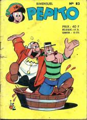 Pepito (1re Série - SAGE) -83- Ventempoupe fait fortune