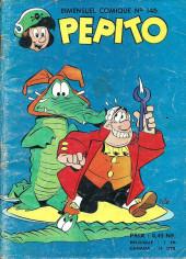 Pepito (1re Série - SAGE) -146- Le farçochampignon
