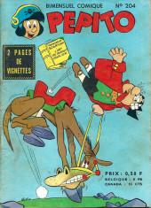 Pepito (1re Série - SAGE) -204- La banane à des visions!