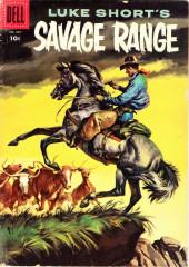 Four Color Comics (Dell - 1942) -807- Luke Short's Savage Range