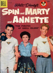 Four Color Comics (Dell - 1942) -826- Spin and Marty and Annette: The Pirates of Shell Island