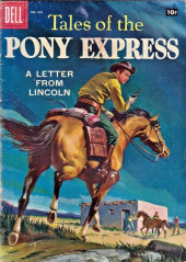 Four Color Comics (Dell - 1942) -829- Tales of the Pony Express: A Letter from Lincoln