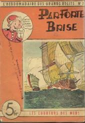 L'hebdomadaire des grands récits -7- Les coureurs de mer - Par forte brise de Nord-Est