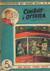 L'hebdomadaire des grands récits -14- Louis Bellejoie, Pionnier canadien - Combat à Ottawa