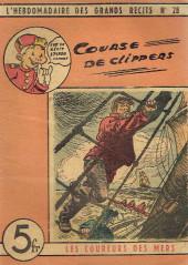 L'hebdomadaire des grands récits -28- Les coureurs de mer - La courses des clippers