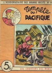 L'hebdomadaire des grands récits -41- Les coureurs de mer - Tempête du Pacifique