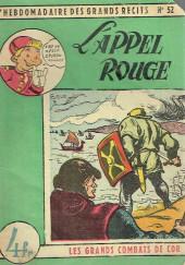 L'hebdomadaire des grands récits -52- Les Grands Combats de Cor - L'Appel rouge