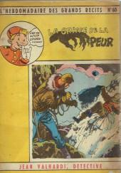 L'hebdomadaire des grands récits -60- Jean Valhardi détective - La griffe de la peur