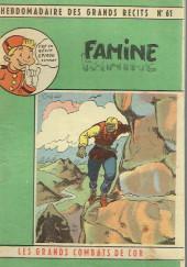 L'hebdomadaire des grands récits -61- Les Grands Combats de Cor - Famine