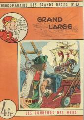L'hebdomadaire des grands récits -63- Les coureurs de mer - Grand large