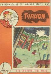 L'hebdomadaire des grands récits -67- Les coureurs de mer - Typhon