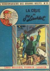 L'hebdomadaire des grands récits -71- Louis Bellejoie, Pionnier canadien - La crue du St Laurent