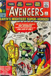 Avengers Vol. 1 (Marvel Comics - 1963) -1-