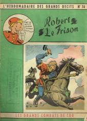 L'hebdomadaire des grands récits -74- Les Grands Combats de Cor - Robert le Frison