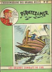 L'hebdomadaire des grands récits -87- Les Grands Combats de Cor - Pirates de mer