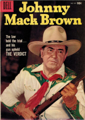 Four Color Comics (Dell - 1942) -834- Johnny Mack Brown: The Verdict